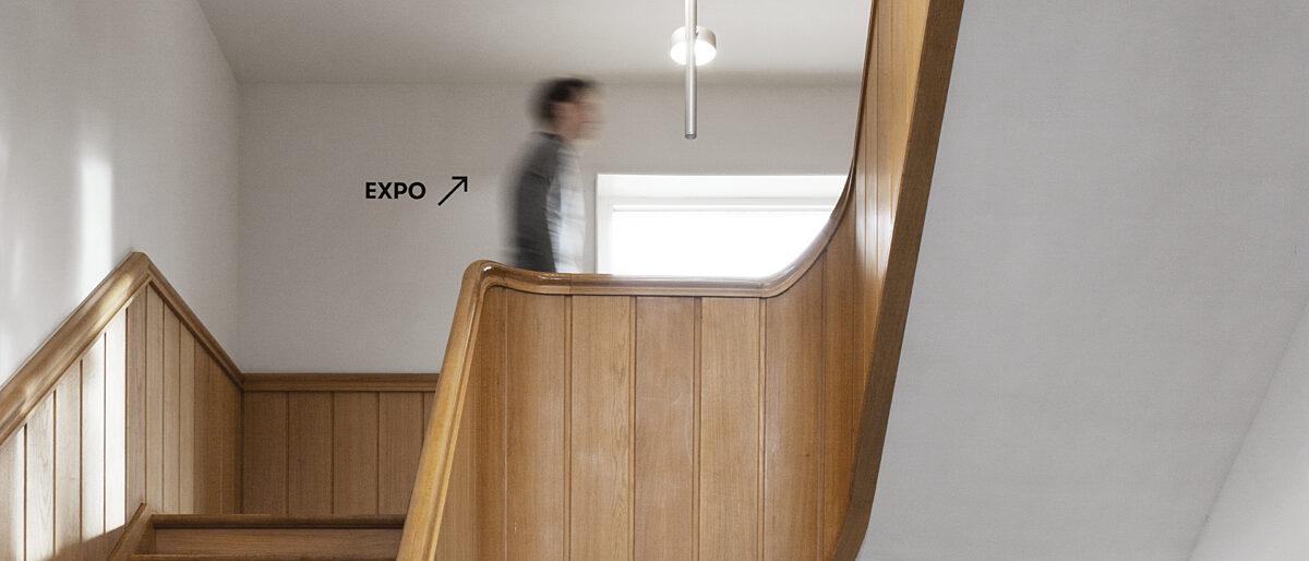 Museum interieur trappenhal 2020 LUCABEEL