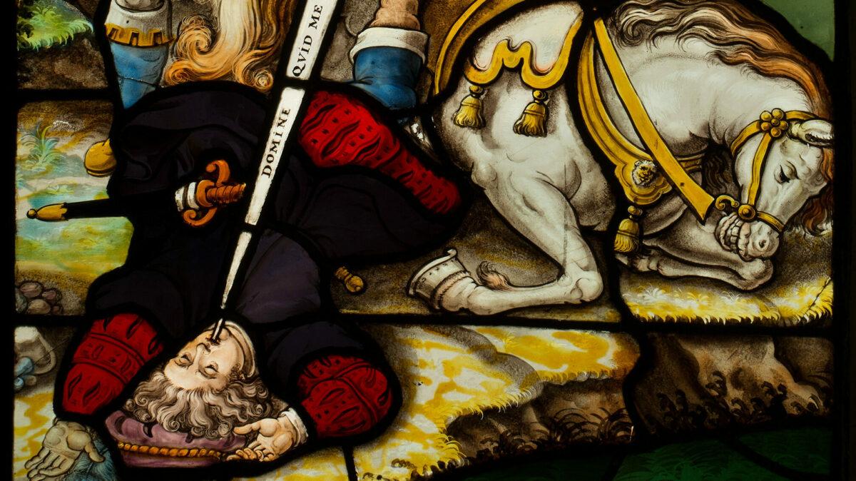 À l'occasion de l'année de célébration, vingt panneaux centraux des vitraux restaurés ont retrouvé leur emplacement d'origine dans le couloir du couvent. La série de vitraux, réalisée entre 1635 et 1643 par Jan De Caumont, a été inscrite en 2018 dans la liste des Œuvres majeures des Autorités flamandes.