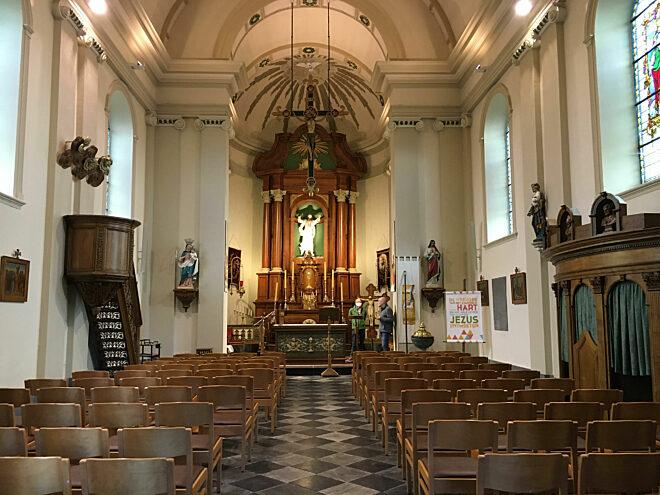 Sint-Alfonskerk Borgloon - © Erfgoedcel Haspengouw, Laura Mathijs